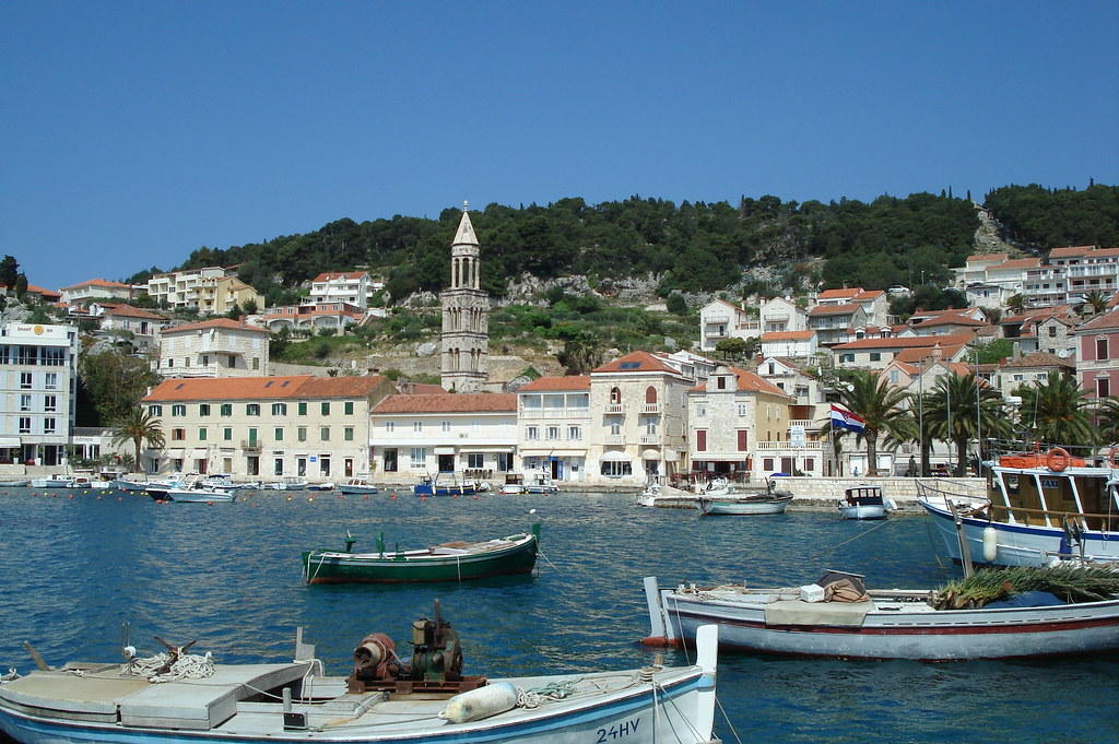 Hvar Harbour by Email56 on Flickr