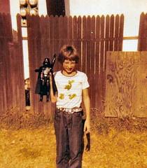 Rob Kid & Large Size Darth Vader (1978)