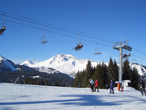 Weekend skiing in Morzine