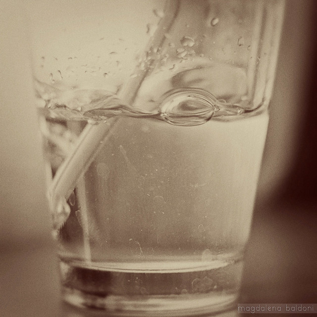 Agua de último momento