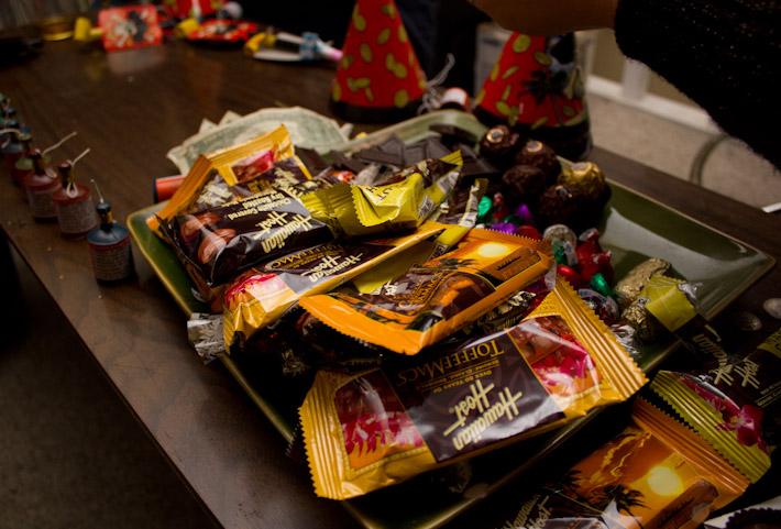 Hawaiian Chocolates from Diana!