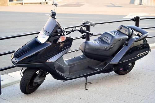 Honda Fusion (CN 250) by luca280668
