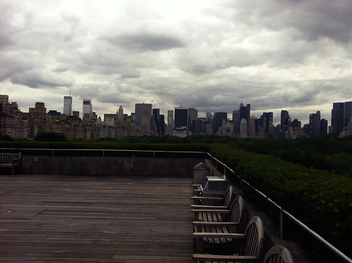 View from the rooftop of the Met - June 2011