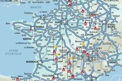 Traffic in France