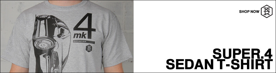 klutch republik super 4 sedan t-shirt automotive clothing