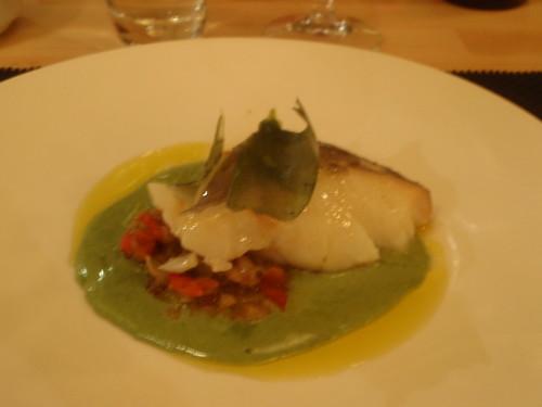 Zaragoza | Restaurante Bole | Bacalao con borraja
