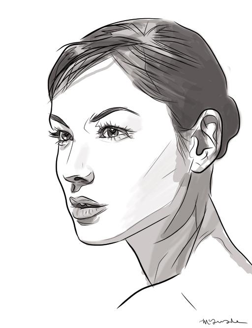 Bérénice-Marlohe-by-Patrick-McQuade