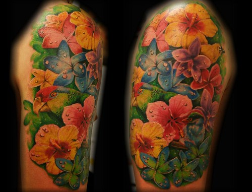Tropical Tattoos For M...