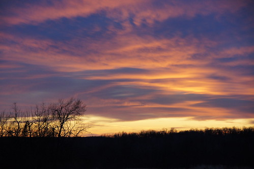 sunset kansas 01032012