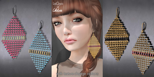 LaGyo for Collabor88_Garska earrings
