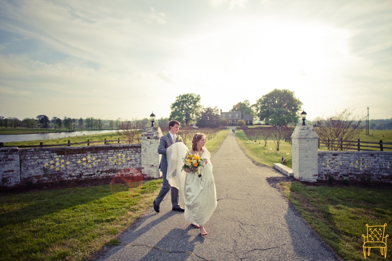 gray and yellow outdoor vintage wedding_065
