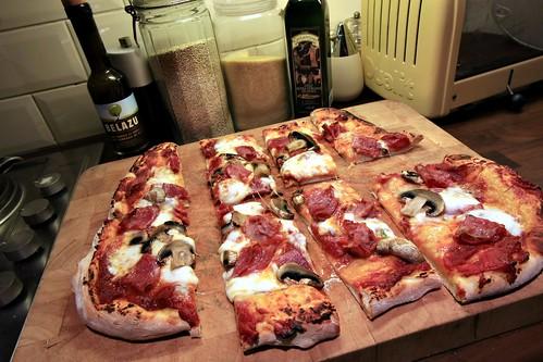 Friday night is pizza night