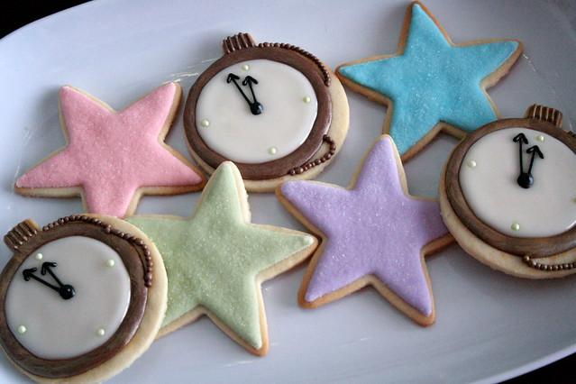 Midnight Clock Cookies.   Explore navygreen's photos on Flic ...
