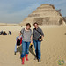Audrey and Erica at Saqqara Pyramid - Egypt