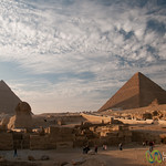 Great Sphinx and Giza Pyramids - Egypt
