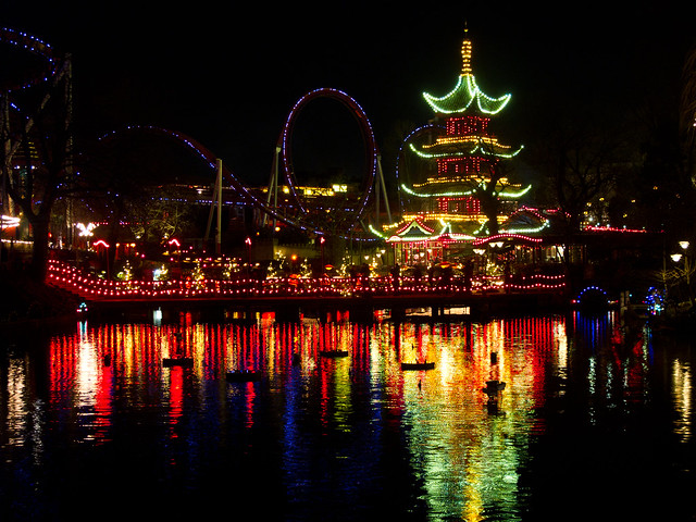 Little China - Tivoli Gardens - Copenhagen