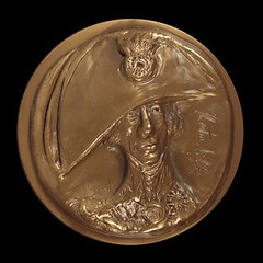 Nelson medal obverse