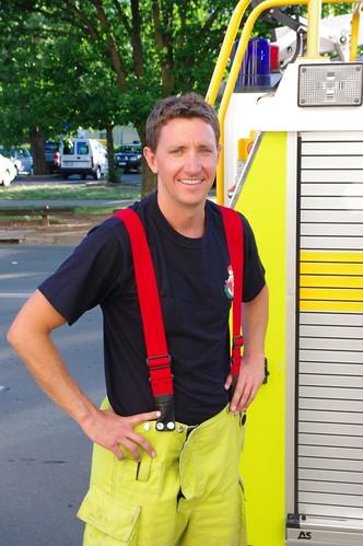 Fireman - Australian Capital Territory (ACT) Fire Brigade