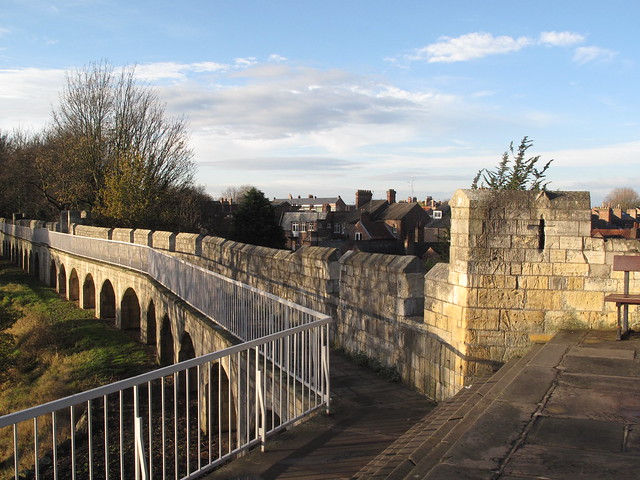 YORK CITY WALLS - A Ride in the Morning