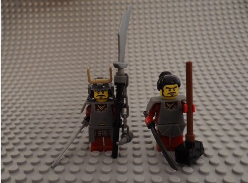 Lego Army - Ninja's and Samurai's