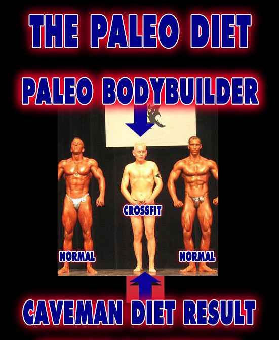 PaleoBodybuilder - PrimalDiet Cross Fit Paleolithic Weight Loss Caveman Gym ProteinPower Bodybuilding Workout -3