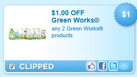 Green Works Products Coupon