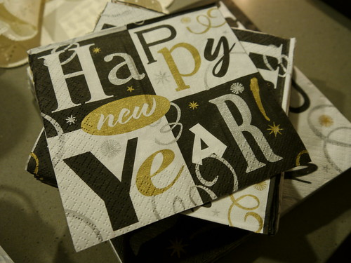 New Year Napkin