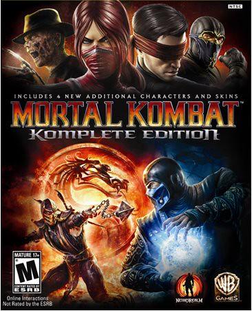 Boxart of Mortal Kombat Komplete Edition