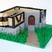Castle Inn/house thingy WIP by AceBricks