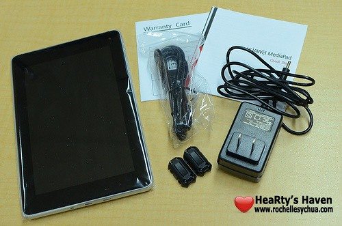 huawei mediaPad box contents