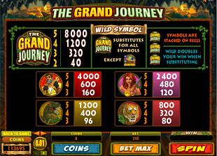 free The Grand Journey slot mini symbol