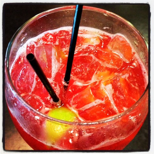 strawberry sangria... by credd