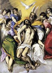 El Greco (1577), La Sma. Trinidad