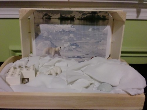 Arctic Sensory Box (Photo by Julie from The Adventures of Bear)