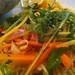 Ensalada de mango y zanahoria con aromas del sureste asiatico tasted by @txikita69 @ Olivia te cuida (Madrid)