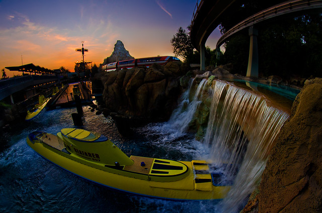 Disneyland's Futuristic Transportation
