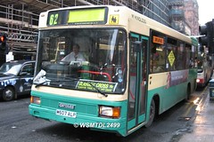 M507 ALP MAN 11.190 Optare Vecta. Renfield Street GLASGOW
