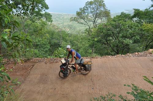 Descending towards Lake Malawi
