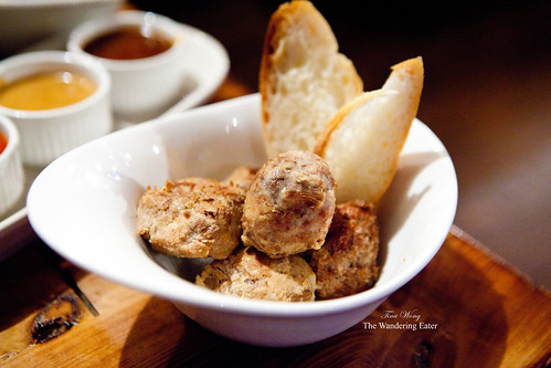 Turducken meatballs