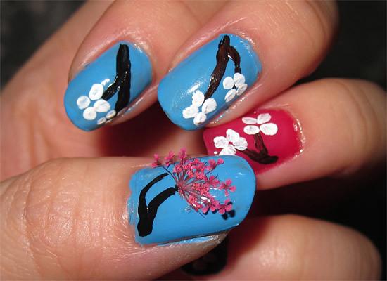 cherry blossoms petals