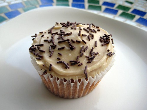 Brown Sugar Cupcakes with Brown Sugar Frosting