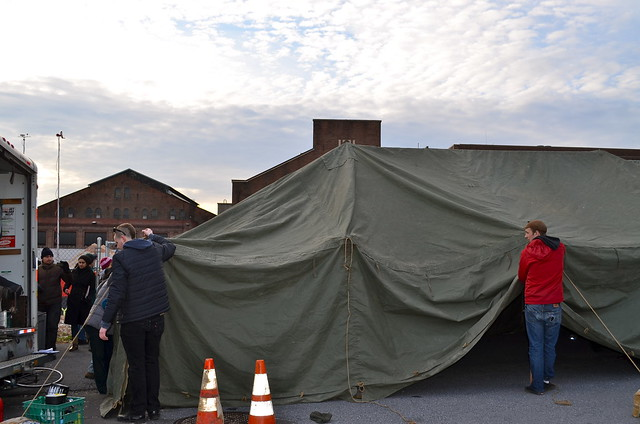Tent for shelter