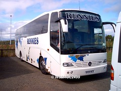 BX04 NCD Mercedes-Benz OC500 Touro.Falkirk Football Stadium FALKIRK 2