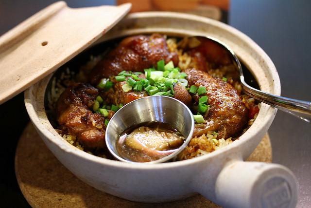 Malaysian Food Street: Huen Kee Claypot Rice
