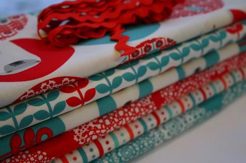 Brr! Quilt fabrics