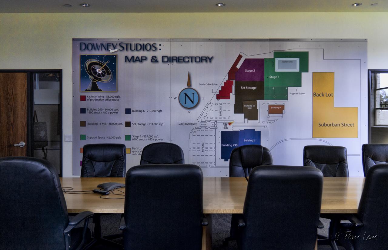 Downey Studios interior