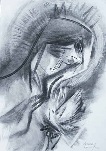 Mary, Mother of Peace. 2012 by Stephen B Whatley