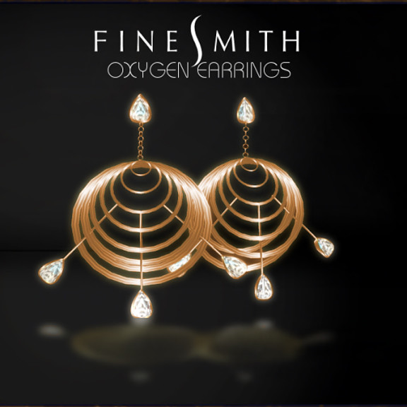 OxygenEarrings copper