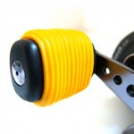 Yellow Fishing Reel Grip