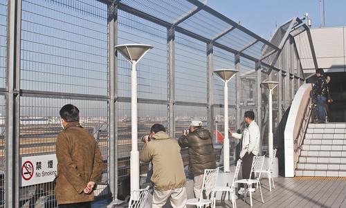 Mirador del aeropuerto de Haneda